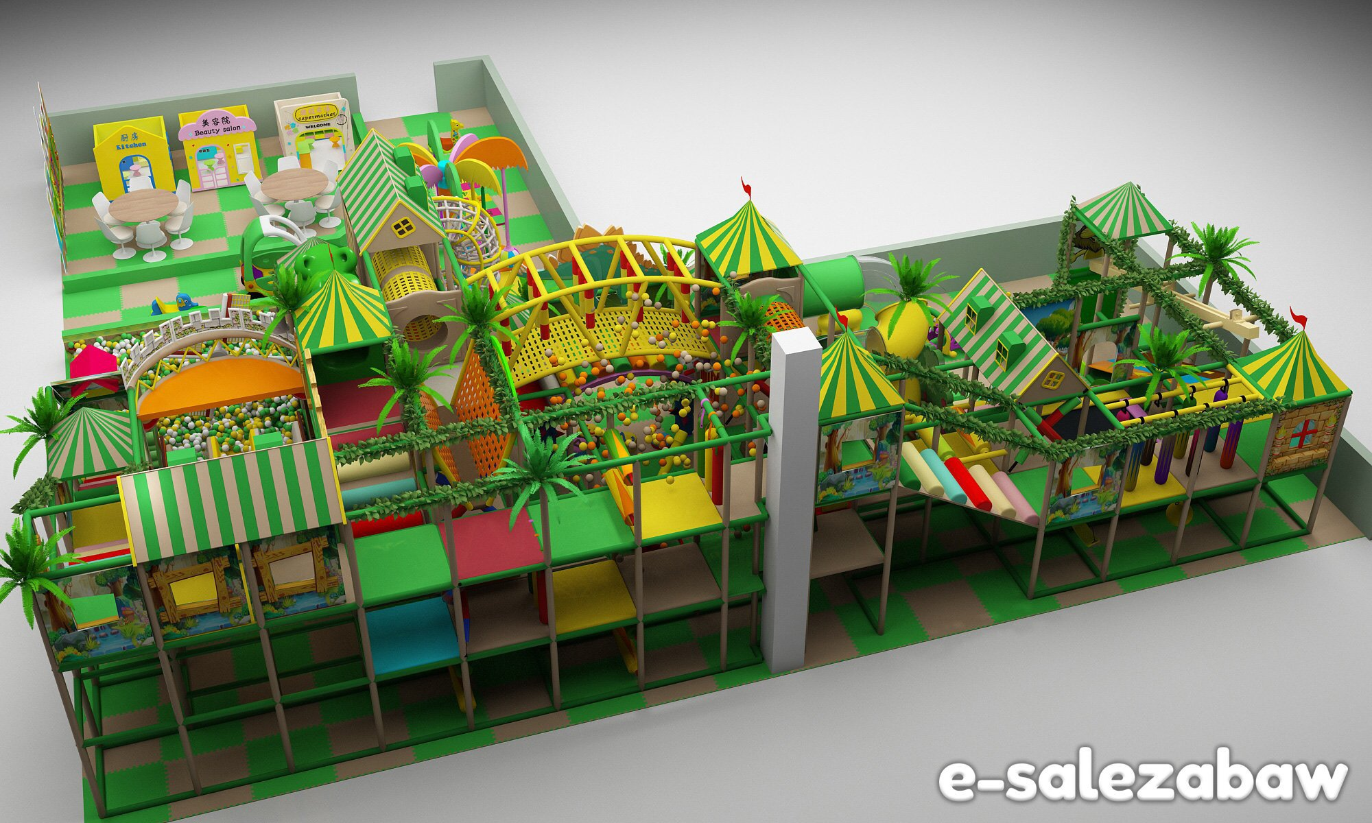 Kostrukcje placów zabaw